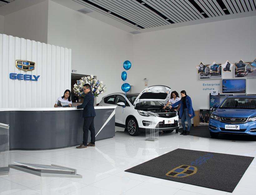 Geely, una de las más importantes empresas automotrices de China, regresó al mercado peruano de la mano de Motormundo, empresa del Grupo Gildemeister. Tiene una propuesta muy atractiva, que incluye al sedán Emgrand 7 y a las SUV/crossover GX3, GS y X7 Sport.