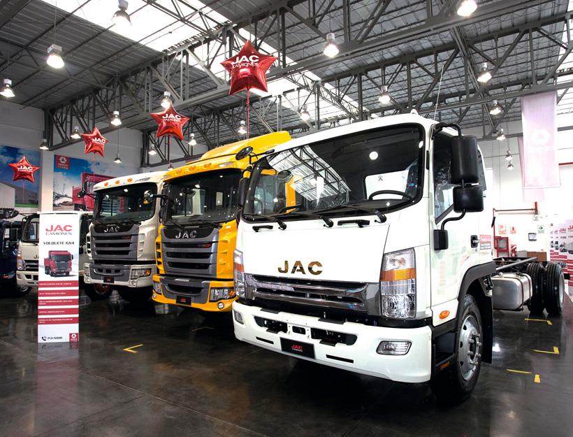 Las marcas chinas también compiten en el mercado de camiones.