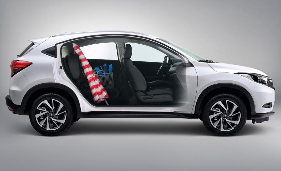 El equipamiento de la HR-V es muy completo para su segmento y el interior es muy cómodo.